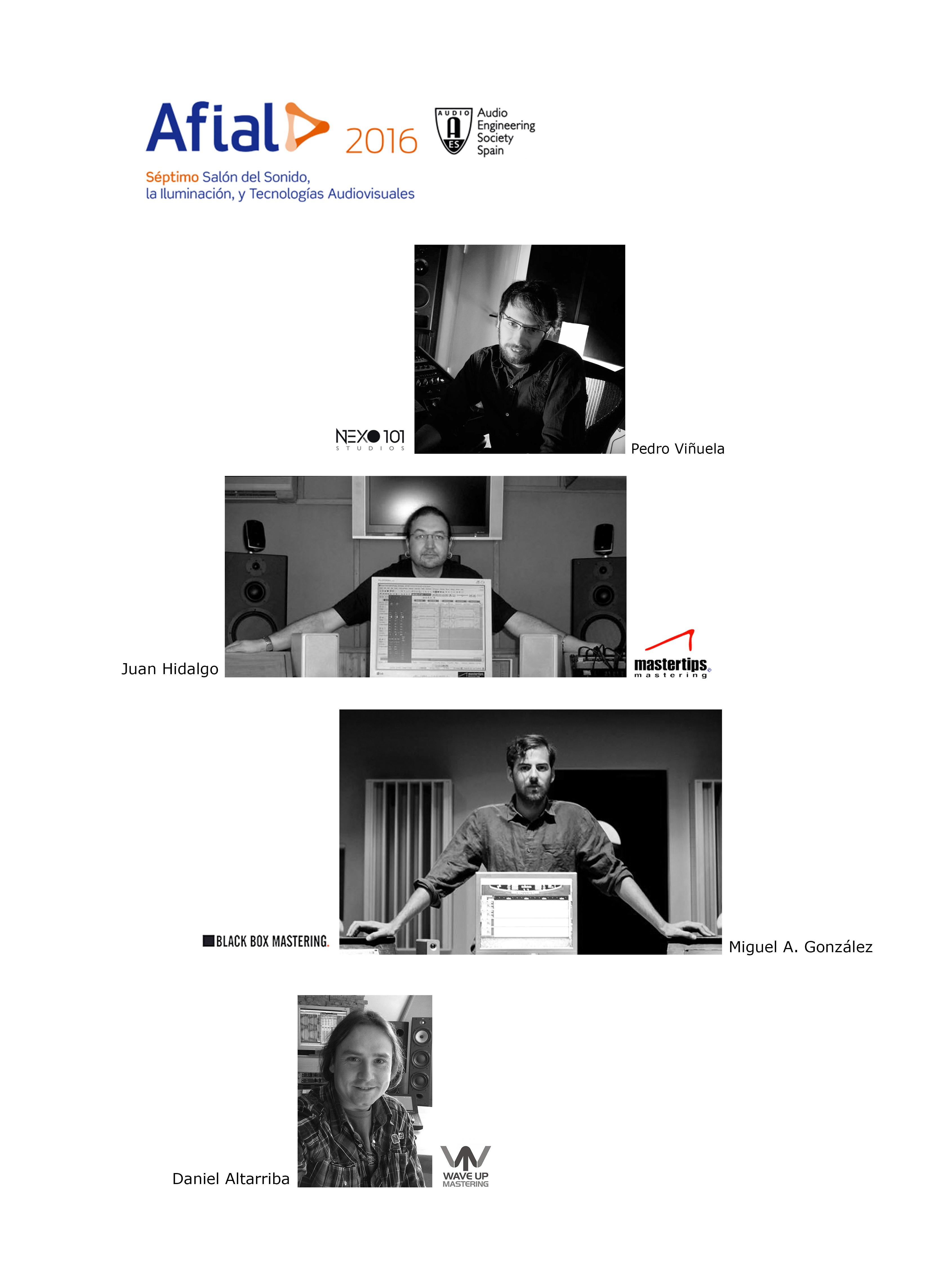 Mesa redonda Mastering AES-AFIAL